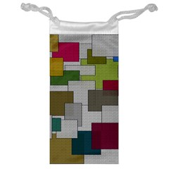 Decor Painting Design Texture Jewelry Bag