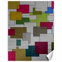 Decor Painting Design Texture Canvas 12  X 16