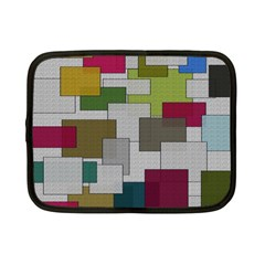 Decor Painting Design Texture Netbook Case (Small)