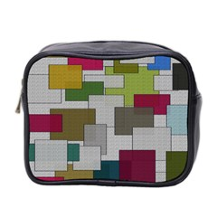Decor Painting Design Texture Mini Toiletries Bag 2-Side