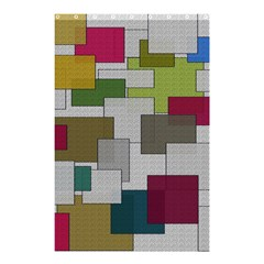 Decor Painting Design Texture Shower Curtain 48  x 72  (Small)