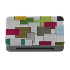 Decor Painting Design Texture Memory Card Reader with CF