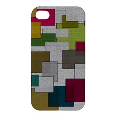 Decor Painting Design Texture Apple iPhone 4/4S Hardshell Case