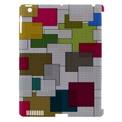 Decor Painting Design Texture Apple iPad 3/4 Hardshell Case (Compatible with Smart Cover)