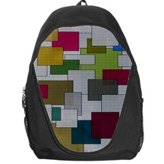 Decor Painting Design Texture Backpack Bag