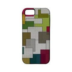 Decor Painting Design Texture Apple Iphone 5 Classic Hardshell Case (pc+silicone)