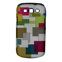 Decor Painting Design Texture Samsung Galaxy S III Classic Hardshell Case (PC+Silicone)