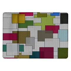 Decor Painting Design Texture Samsung Galaxy Tab 10.1  P7500 Flip Case