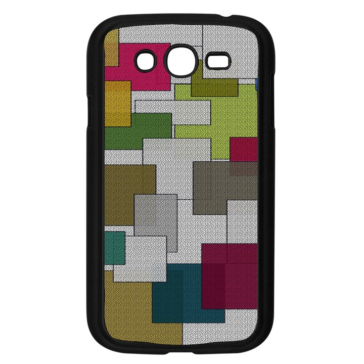 Decor Painting Design Texture Samsung Galaxy Grand DUOS I9082 Case (Black)
