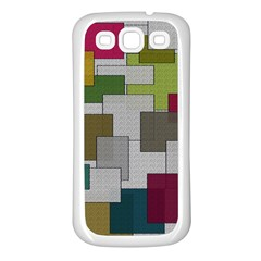 Decor Painting Design Texture Samsung Galaxy S3 Back Case (white)