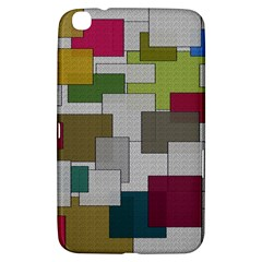 Decor Painting Design Texture Samsung Galaxy Tab 3 (8 ) T3100 Hardshell Case