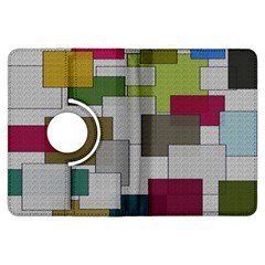 Decor Painting Design Texture Kindle Fire HDX Flip 360 Case