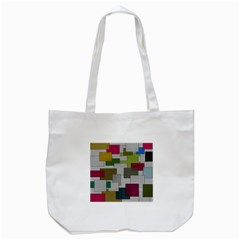 Decor Painting Design Texture Tote Bag (White)