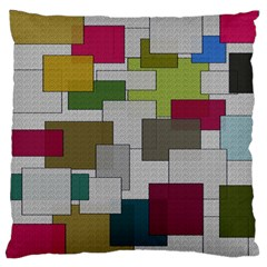 Decor Painting Design Texture Standard Flano Cushion Case (one Side)