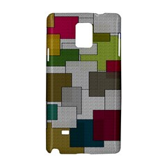 Decor Painting Design Texture Samsung Galaxy Note 4 Hardshell Case