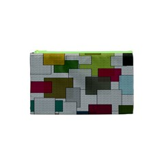 Decor Painting Design Texture Cosmetic Bag (XS)
