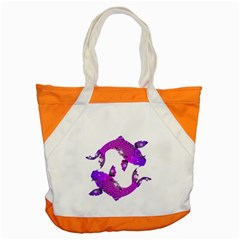 Koi Carp Fish Water Japanese Pond Accent Tote Bag
