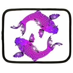 Koi Carp Fish Water Japanese Pond Netbook Case (Large)