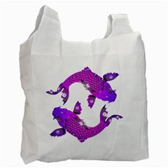 Koi Carp Fish Water Japanese Pond Recycle Bag (one Side)