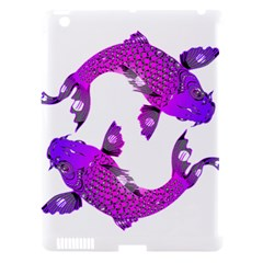 Koi Carp Fish Water Japanese Pond Apple iPad 3/4 Hardshell Case (Compatible with Smart Cover)