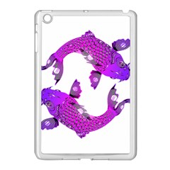 Koi Carp Fish Water Japanese Pond Apple iPad Mini Case (White)