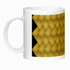 Wood Illustrator Yellow Brown Night Luminous Mugs