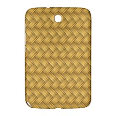 Wood Illustrator Yellow Brown Samsung Galaxy Note 8.0 N5100 Hardshell Case