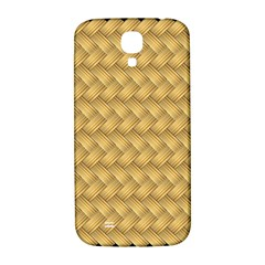 Wood Illustrator Yellow Brown Samsung Galaxy S4 I9500/i9505  Hardshell Back Case