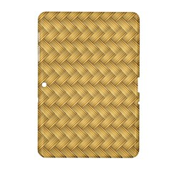 Wood Illustrator Yellow Brown Samsung Galaxy Tab 2 (10 1 ) P5100 Hardshell Case