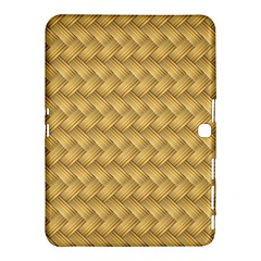 Wood Illustrator Yellow Brown Samsung Galaxy Tab 4 (10.1 ) Hardshell Case