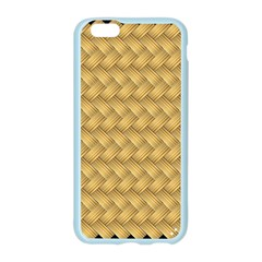 Wood Illustrator Yellow Brown Apple Seamless iPhone 6/6S Case (Color)