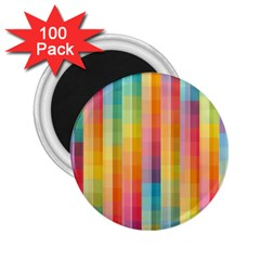 Background Colorful Abstract 2.25  Magnets (100 pack)