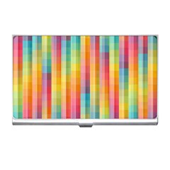 Background Colorful Abstract Business Card Holders