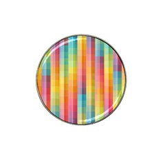 Background Colorful Abstract Hat Clip Ball Marker (4 Pack)