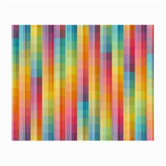 Background Colorful Abstract Small Glasses Cloth