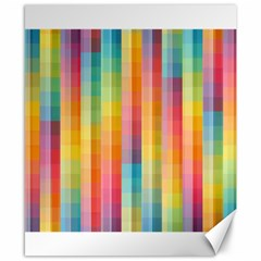 Background Colorful Abstract Canvas 8  x 10