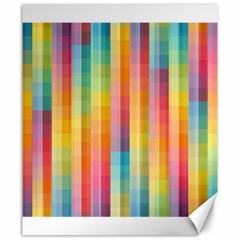 Background Colorful Abstract Canvas 20  x 24