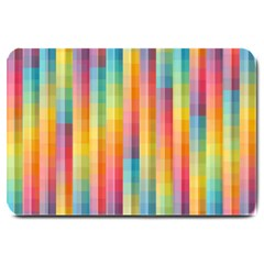 Background Colorful Abstract Large Doormat