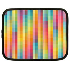 Background Colorful Abstract Netbook Case (Large)