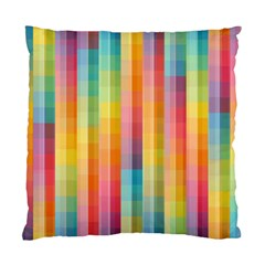 Background Colorful Abstract Standard Cushion Case (two Sides)