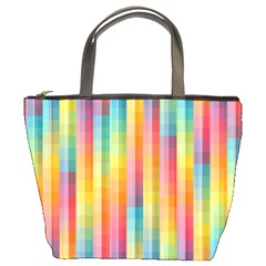 Background Colorful Abstract Bucket Bags