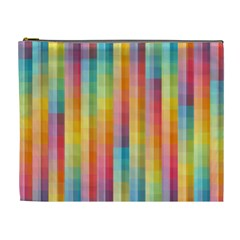 Background Colorful Abstract Cosmetic Bag (xl)