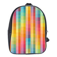 Background Colorful Abstract School Bags(large)