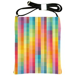 Background Colorful Abstract Shoulder Sling Bags