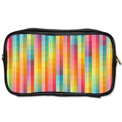 Background Colorful Abstract Toiletries Bags 2 Side