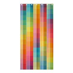 Background Colorful Abstract Shower Curtain 36  x 72  (Stall)
