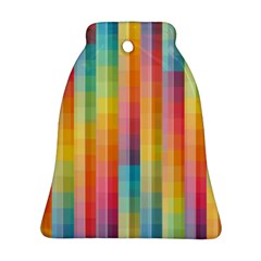 Background Colorful Abstract Bell Ornament (Two Sides)