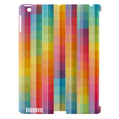 Background Colorful Abstract Apple Ipad 3/4 Hardshell Case (compatible With Smart Cover)