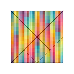 Background Colorful Abstract Acrylic Tangram Puzzle (4  x 4 )