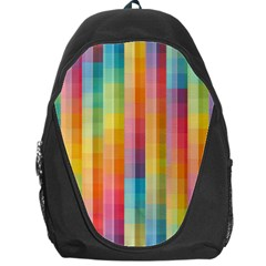 Background Colorful Abstract Backpack Bag